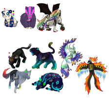 point adoptables + auction by CleverConflict