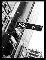 Pike St by AnneFoto