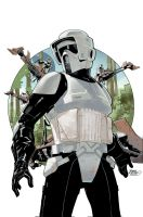Star Wars #22 Cover by TerryDodson