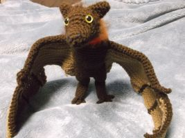Fruit bat amigurumi by ShadowOrder7