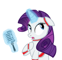 Rarity | Five Nights At Pinkie's by xLexieRusso2