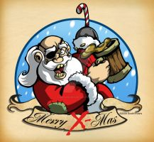 Jolly Roger Santa Clause by DustinEvans