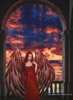 Red Angels Dawn by RogerioGuimaraes