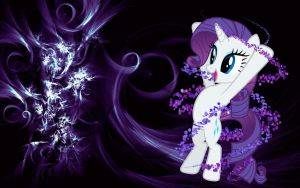 rarity particles wallpaper by MaxnueL
