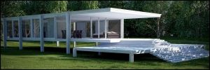 Farnsworth House by xcEmUx
