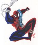 The Sensational Web of Scarlet Spider by theCHAMBA