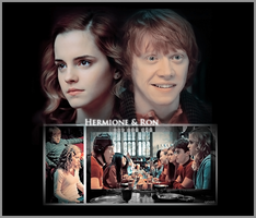 Ron and Hermione. by Spenne