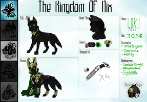 DR: ~Loki of Nix~ by Kitonika9