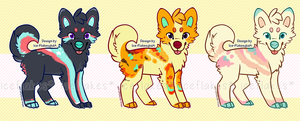 [OPEN] Cute pups (OTA or auto buy) by Ice-Flakes