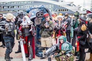 UK Warhammer Cosplayers Meet - October MCM 2014 by KnoxyMcKnox