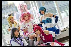 Magical Girls Unite by Lolipuff