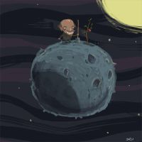 apple_on_the_moon by ZheSyt