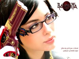 Bayonetta face by DarkTifaStrife