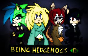.::Being Hedgehogs::. by TeaLadyC8LIN