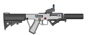 UGTF's LX45 Pistol-Carbine by ThantosEdge