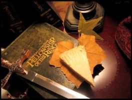Lord of the Rings Still Life 2 by aelthwyn