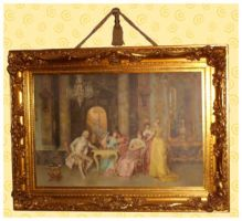 A Framed Painting by MadameM-stock