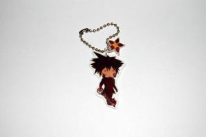 Vanitas Keychain charm by knil-maloon