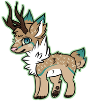 [Deerdog auction] .:CLOSED:. by coconuteIIa