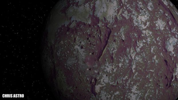 Kuiper Belt Object  Planet by ChrisAstro102