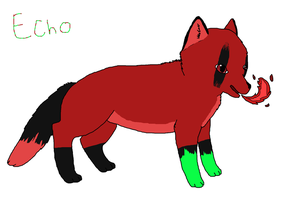 Art request: Echo as a fox by Artist-Who-Draws