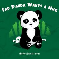 sad panda by ramy