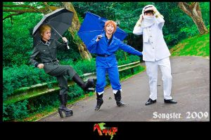 APH: Umbrella Parade Outake by songster69