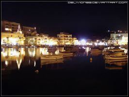 Marsascala by night by Oblivion89