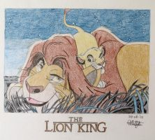 The Lion King by Albertinez