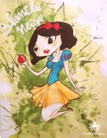 snow white by little-lilly-beast