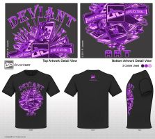 Purple art Tools Design by reyjdesigns