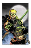 Green Arrow by Roland Paris by GavinMichelli