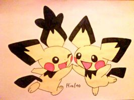Pichu -friends forever- by MiaHinasakie