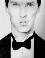Benedict Cumberbatch 2 by sharpiemaster