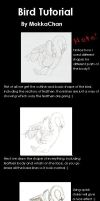 Bird drawing Tutorial by MokkaChan