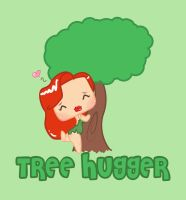 Tree Hugger by Cat-The-Rawr