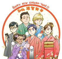 HAPPY NEW SHAZAM YEAR!!! by Sii-SEN