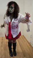 Zombie School Girl 25 by Angelic-Obscura