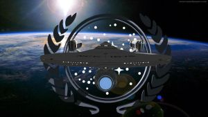 USS Christine Hoagland with a UFP logo version 2 by starshipdriver