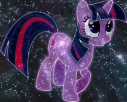 Cosmic Twilight Sparkle by AmazingPony