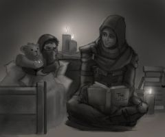 Bedtime stories by Miklche04