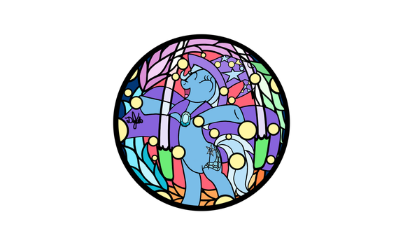 Trixie Design for Stained Glass by DevicTemple