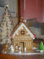 Gingerbread House (6) by jess13795