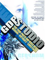GDP Studio Typography by GhenKnight