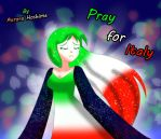 Pray for Italy by FairyAurora