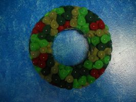 Second Christmas wreath by Celtic-Dragonfly
