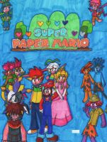 Chapter 5 cover page by Super-Paper-Mario