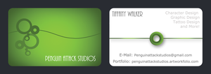 Business Card by PenguinAttackStudios