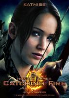 CF: KATNISS self-made movie poster by NinaStrieder
