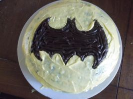 Batman Cake by RockyRoxas13